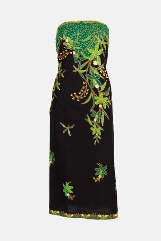 0018 Dress, Tube mid length                Size : L