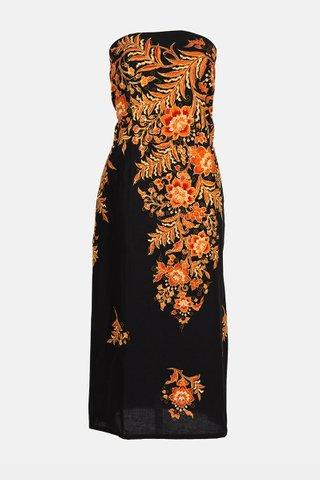 0024 Dress, Tube mid length               Size : XL