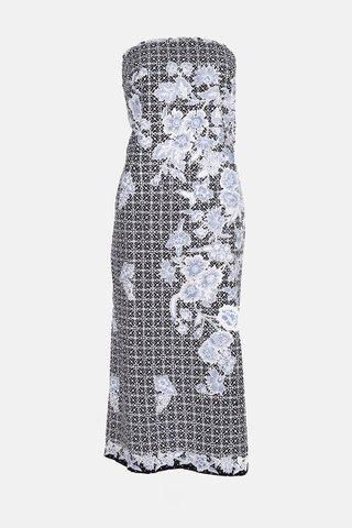 0027 Dress, Tube mid length        Size : XXL