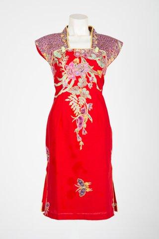 0031 Qi Pao Kimono neckline                 Size : M