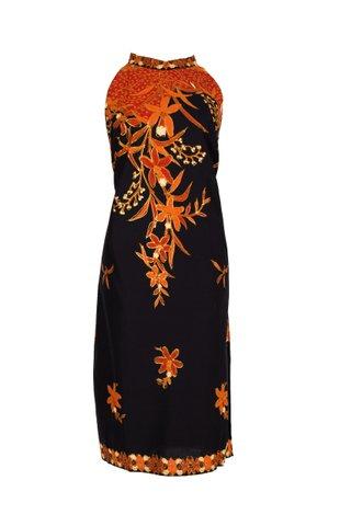 0043  Dress w/Halter neckline    Size : XL