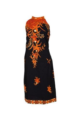 20068  Dress w/Halter neckline   Size : XXL