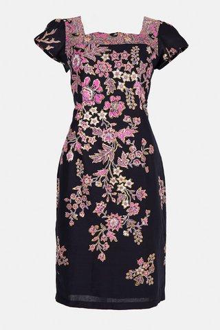 0051 Dress, Square neckline  Size : M