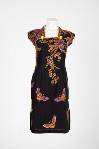 60225 Qi Pao Kimono neckline          Size : S