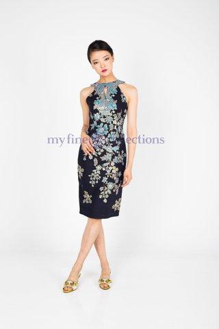 20242  Dress Empire waistline           Size : S to 2XL