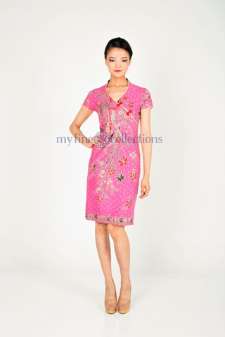 70221  Qi Pao Short Sleeve            Size : S to 3XL