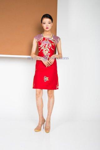 60225  Qi Pao Sleeveless            Size : S to 2XL