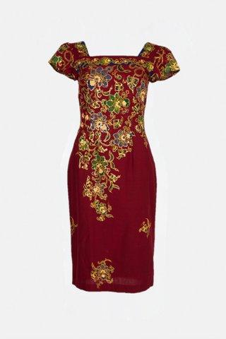 30223 Dress, Square neckline  Size : S